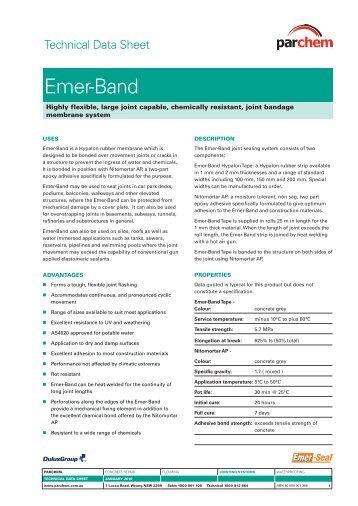 Emer-Band TDS - Parchem