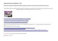 Materialavisierbrief vom Rägeboge 3 / 2011