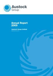 Annual Report 2009 - Austock Group