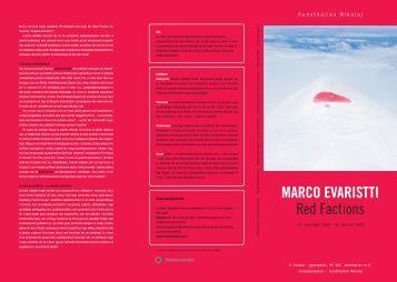 MARCO EVARISTTI Red Factions - Skoletjenesten