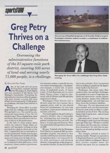 Greg Petry Thrives on a Challenge