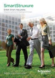 SmartStruxure brosjyre (PDF - 1Mb) - Schneider Electric