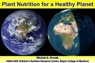 Plant nutrition for a healthy planet - IPNC Home Page