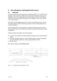 Ikke-rektangulære tværsnit, armeret murværk, konsoller, ankre, mm ...