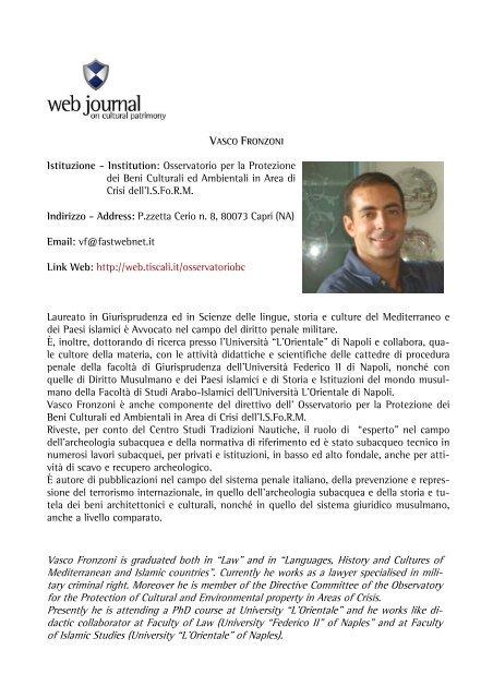 PAOLO BIAGI - web journal