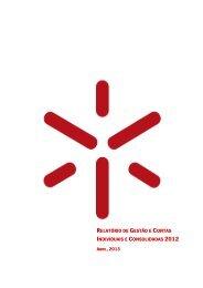 Relatorio de Gestao Contas VFinal Jun2013 - Universidade do Minho