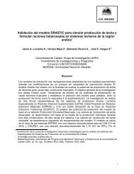 Validación del modelo DRASTIC para simular ... - Condesan