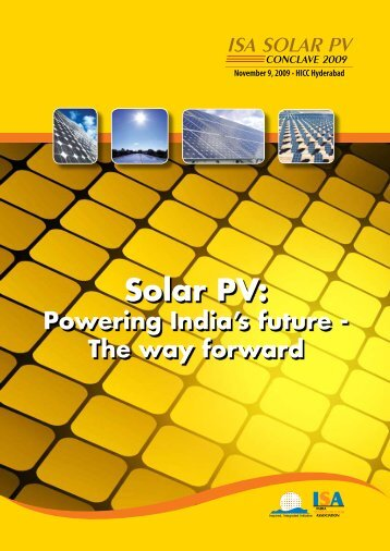 Solar PV: - india electronics & semiconductor association