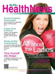 All about the Ladies - Raffles Medical Group