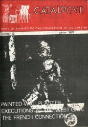 Catalogue - Winter 1983 - Colchester Archaeological Trust