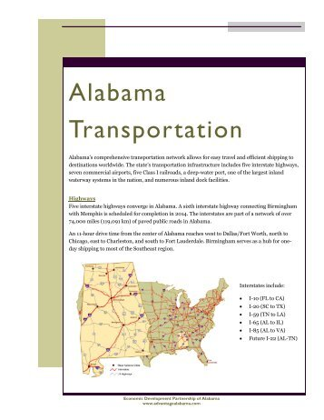 Transportation Overview.pub - Economic Development Partnership ...