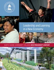 Leadership and Learning in a New Economy - North Shore ...