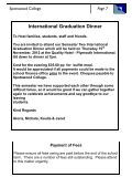 Newsletter - October 2012 - Spotswood College - Page 7