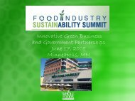 Innovative Green Business and Government Partnerships June 17 ...