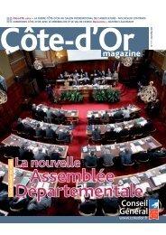Télécharger Côte-d'Or Magazine N°111 - Avril / Mai 2011 en PDF