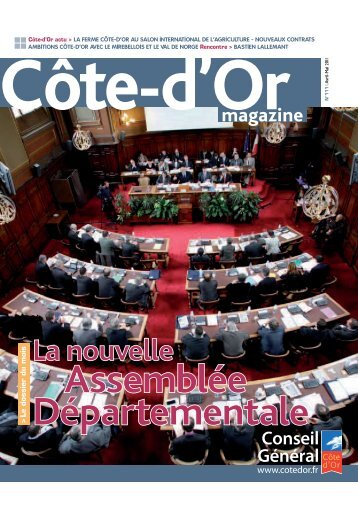 Télécharger Côte-d'Or Magazine N°111 - Avril / Mai 2011 en PDF