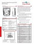 AQHTSTAT4P0010 AquaHeat 450010 Digital Dual Sensing ... - Page 2