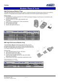 Modular Plug Catalog - YE International - Page 2