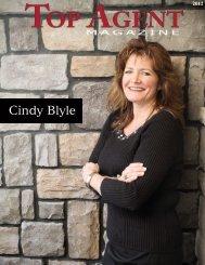 Cindy Blyle - Top Agent Magazine