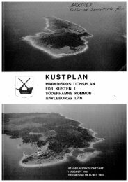 Kustplan - Söderhamns kommun