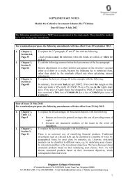 Date Of Issue: 9 July 2012 The following amendme - Singapore ...