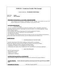 Profil technicien pôle estampes - Cipac