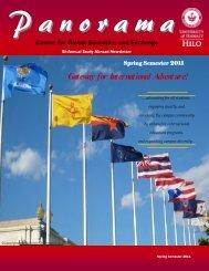 Spring 2011 - Center for Global Education & Exchange