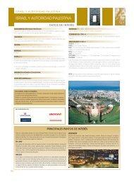 ISRAEL Y AUTORIDAD PALESTINA - Viajes El Corte Inglés