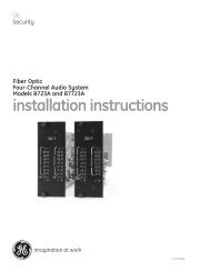 installation instructions - Interlogix