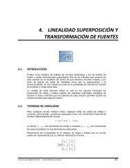 4. linealidad superposición y transformación de fuentes