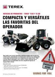 compacta y versátiles las favoritas del operador - Inicio