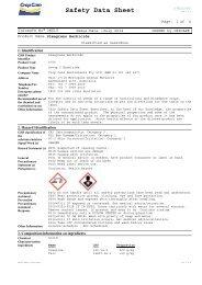 View MSDS - Crop Care Australasia