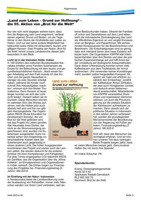 Ausgabe 2013-2 - Ev. Kirchengemeinde Bietigheim - Muggensturm