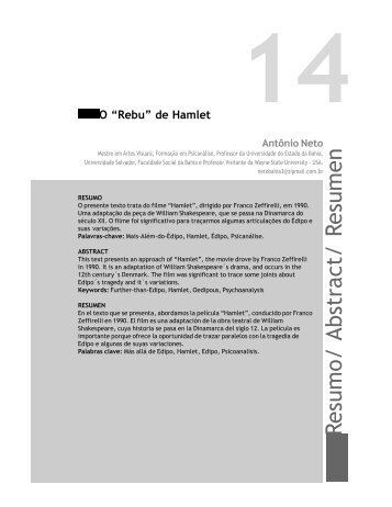 Resumo/ Abstract/ Resumen - Faculdade Social