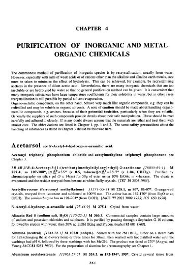 purification of inorganic and metal organic ... - Nouvelle page 1