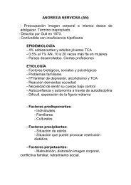 ANOREXIA NERVIOSA (AN) - Preocupación imagen corporal e ...