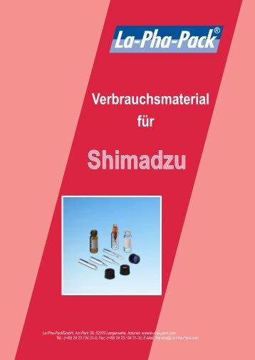 Shimadzu - Markus Bruckner Analysentechnik