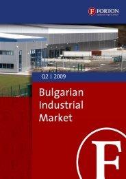 Bulgarian Industrial Market – Q2, 2009.pdf - Forton