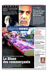 Fr-20-07-2013 - Algérie news quotidien national d'information