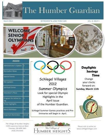 The Humber Guardian - Schlegel Villages