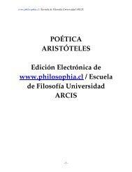 POÉTICA ARISTÓTELES Edición Electrónica de www.philosophia.cl ...