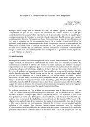 Les enjeux de la Directive cadre sur l'eau de l'Union ... - INBO