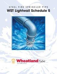SprinklerBrochures WST Schedule5 - Wheatland Tube