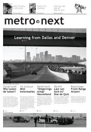 Learning from Dallas and Denver - Urban Unlimited