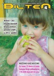 Milion i 265 hiljada danskih kruna pomoći poslato u BiH u 2012. godini