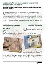 více... - Katedra oděvnictví - Technická univerzita v Liberci