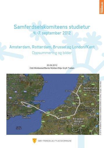 Rapport samferdselskomiteens studietur - september 2012