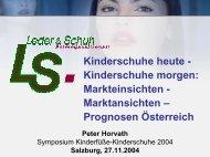 Kinderschuhe heute - Kinderschuhen morgen - Kinderfüße ...