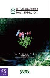 A4サイズ版[PDF 2.69MB] - 東北大学 金属材料研究所