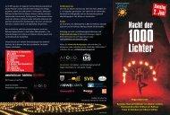Flyer Nacht der 1000 Lichter PDF - Siegener Sommerfestival